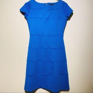 Ivanka Trump Blue Midi Dress Casual/Formal Size 2